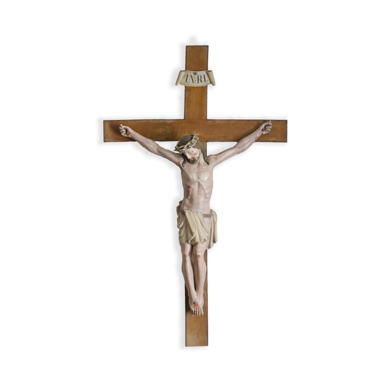 antiker Christus am Kreuz