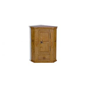 antique small corner cupboard