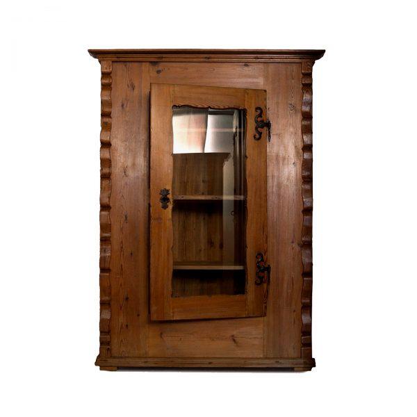 corner cabinet softwood