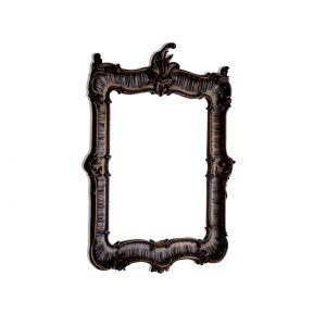 antique frame of mirror