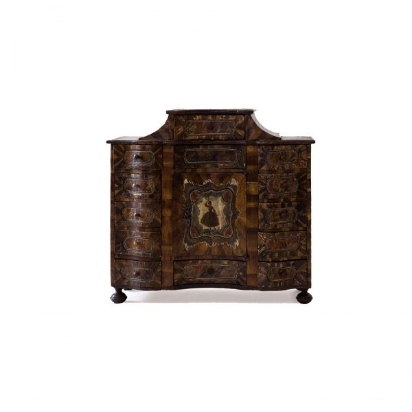 painted hanging cabinet