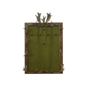 coatrack with hunting elements
