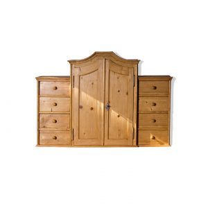 wall cupboard soft wood