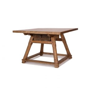rural antique table