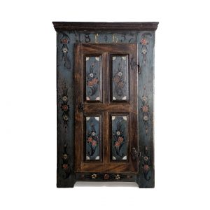 painted wardrobe antique