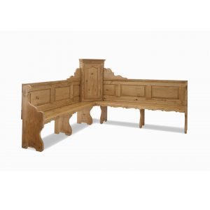 corner bench softwood