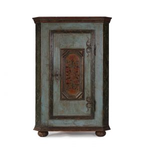 small antique corner cabinet