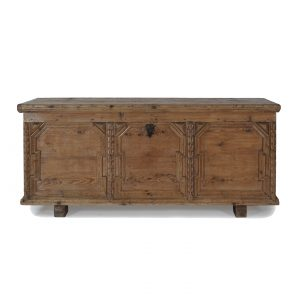 austrian chest softwood antique
