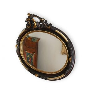 austrian antique mirror