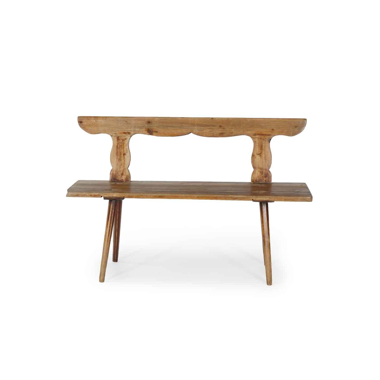 Bank aus Holz antik