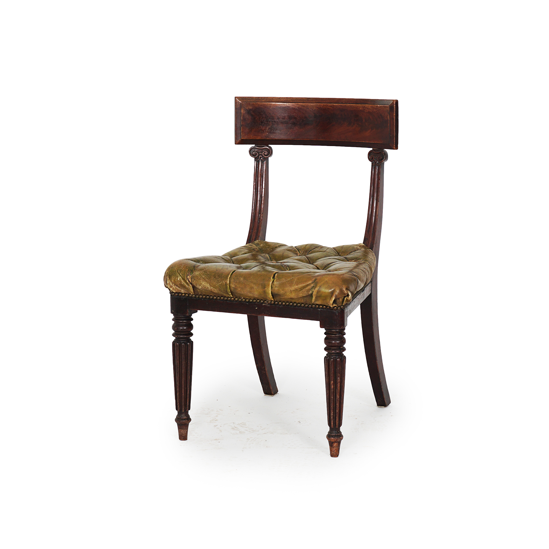 6 chairs in Regency Style