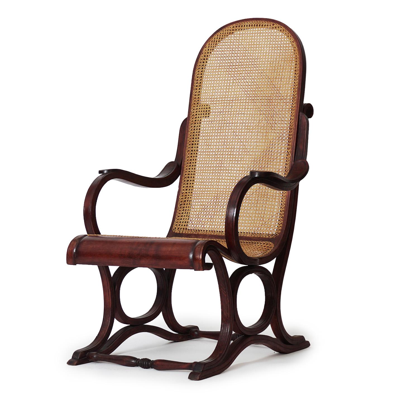 Thonet recliner chair